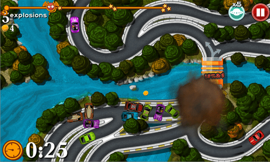 bad traffic - Game hay cho Windows Phone ngày 13/6/2015