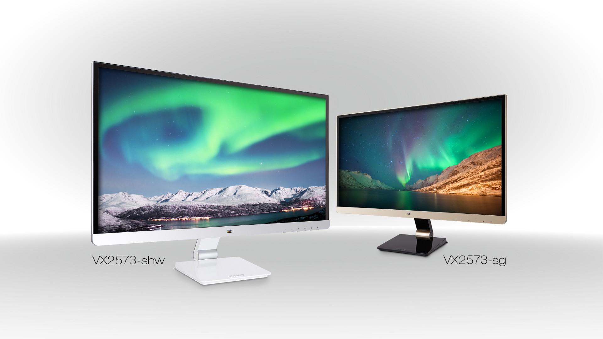 GROUP IMAGE VX2573 01 - ViewSonic giới thiệu dòng màn hình VX2573 IPS 25-inch