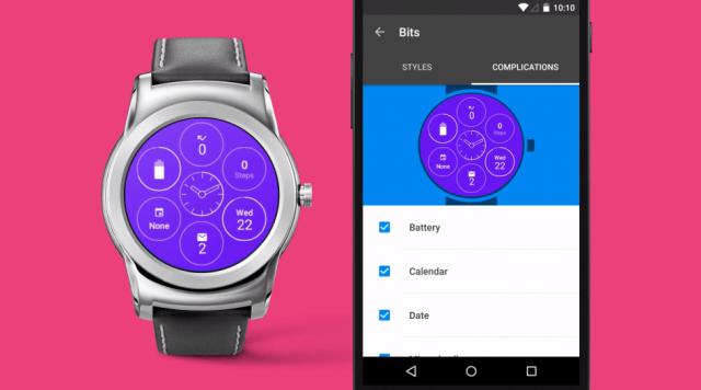 """android wear interactive face 3 - Google giới thiệu """"mặt đồng hồ tương tác"""""""
