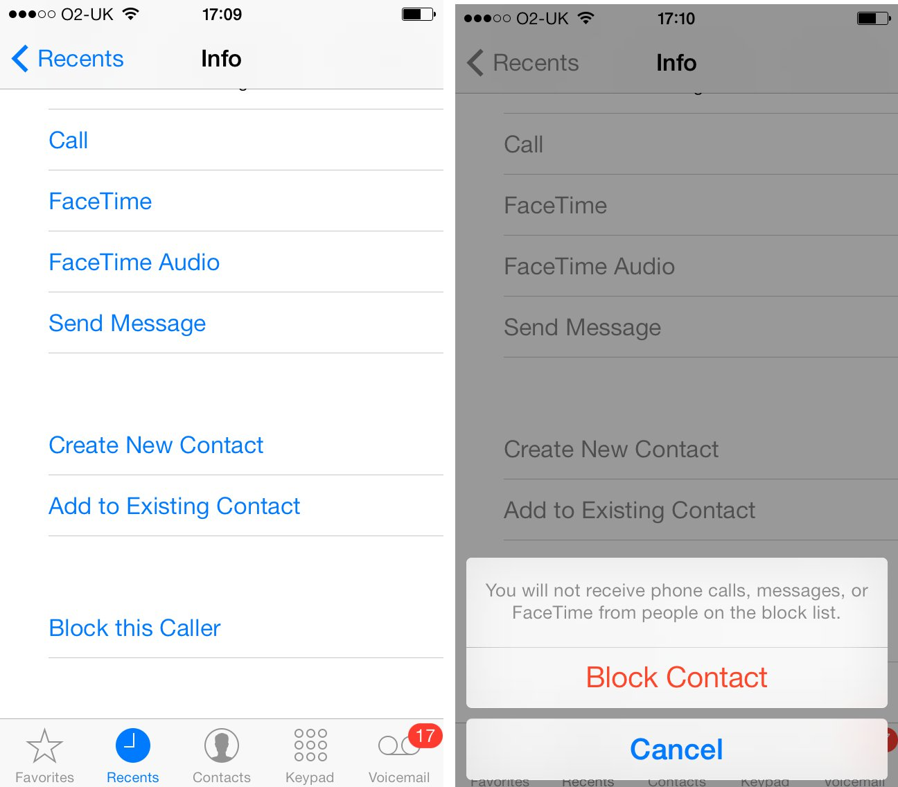 how to block a phone number on iphone hướng dẫn chặn cuộc gọi trong ios 8 20751