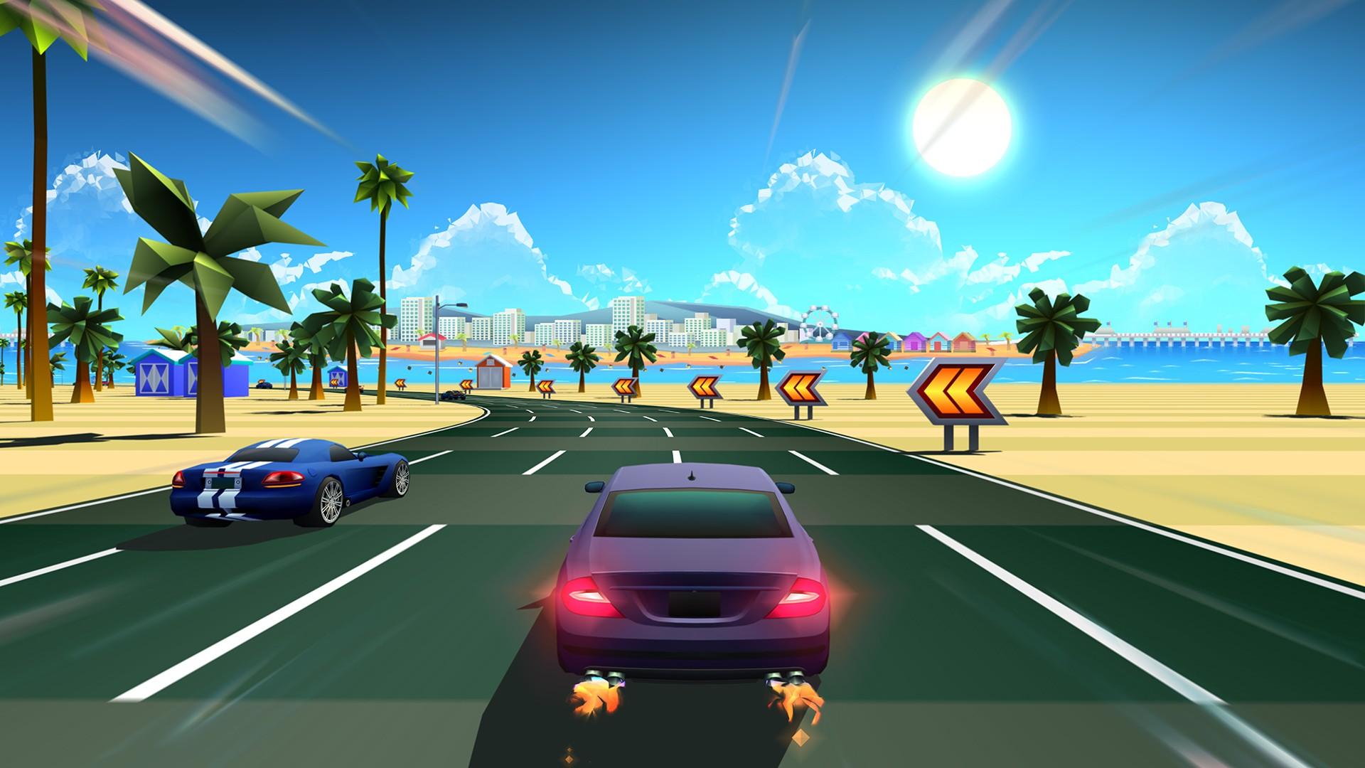 horizon chase - Horizon Chase: Game hay trong tuần