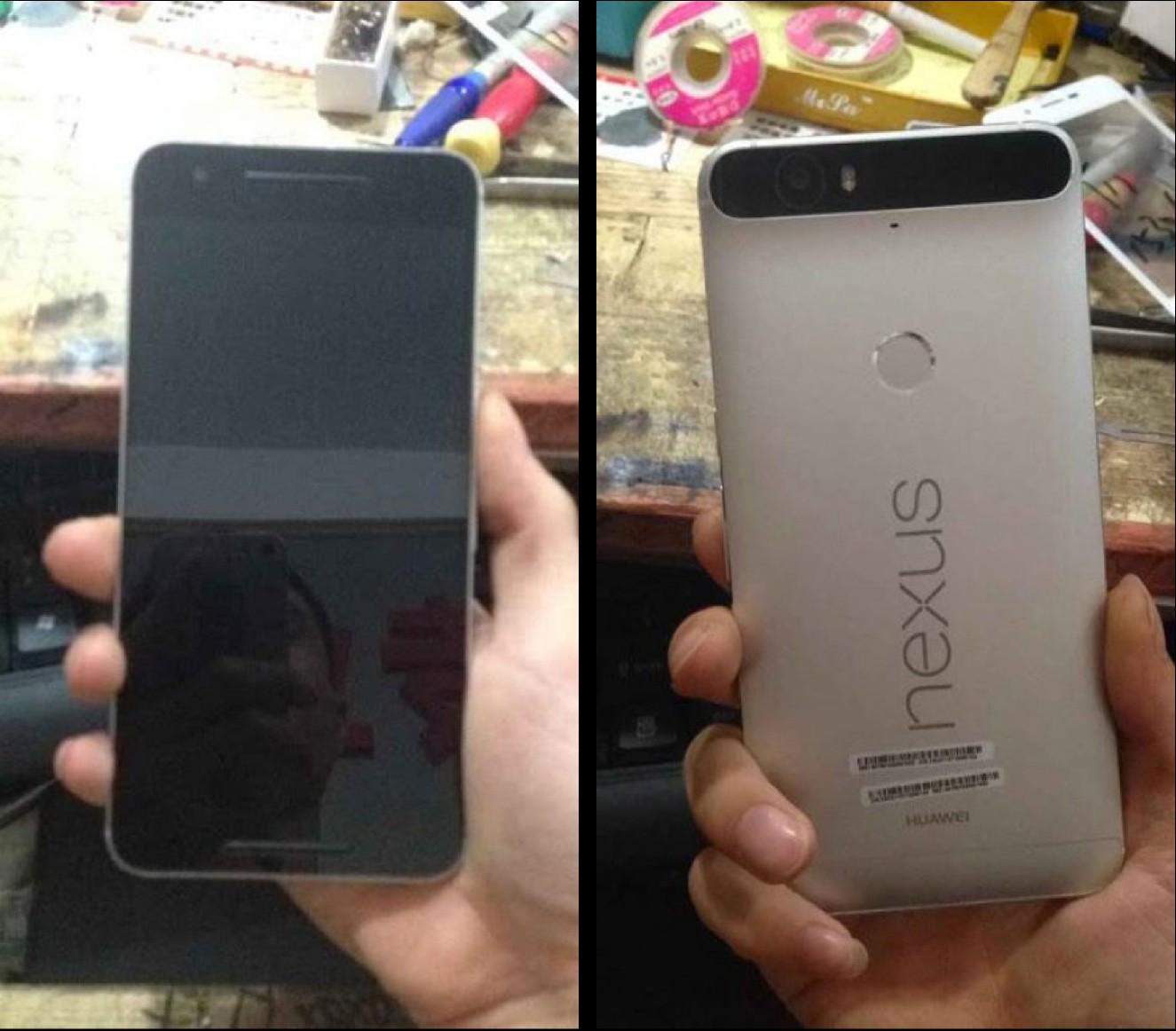 Huawei Nexus 6 - Huawei Nexus 6 bất ngờ lộ ảnh thật