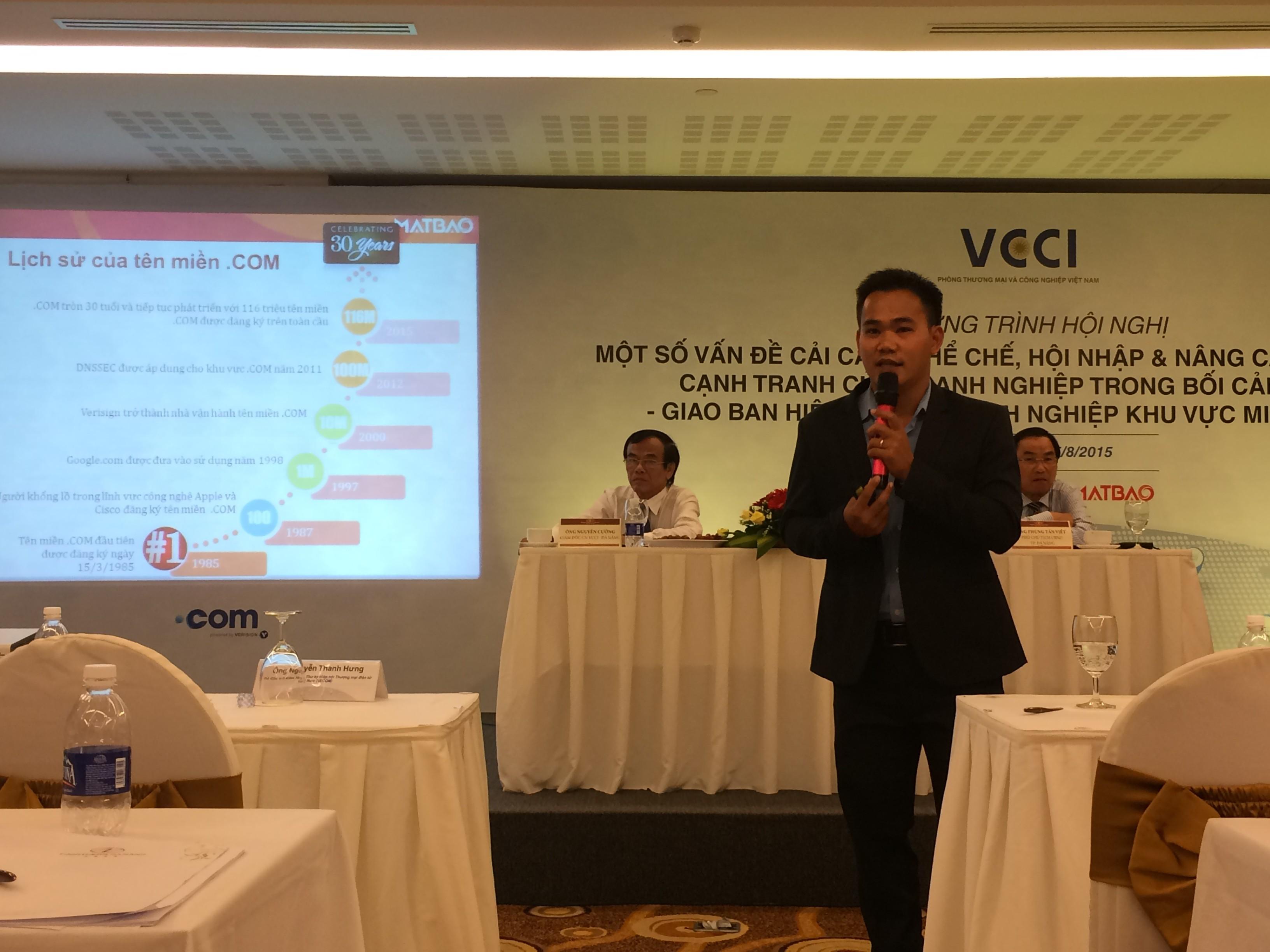 Ong Nguyen Minh Thai Giam doc Kinh doanh cong ty Mat Bao Network - Doanh nghiệp vừa và nhỏ Việt Nam hội nhập kinh tế quốc tế thông qua nhận diện trực tuyến mạnh mẽ