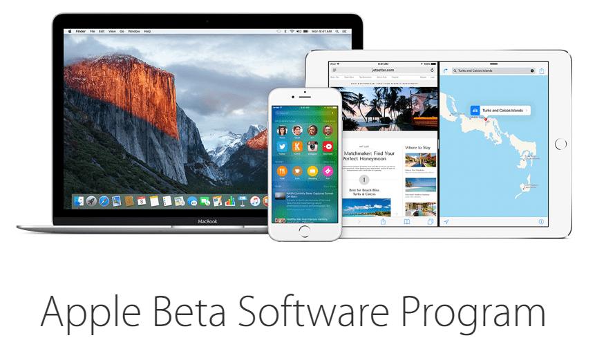 apple beta program - Làm sao dùng thử iOS 9 Beta?