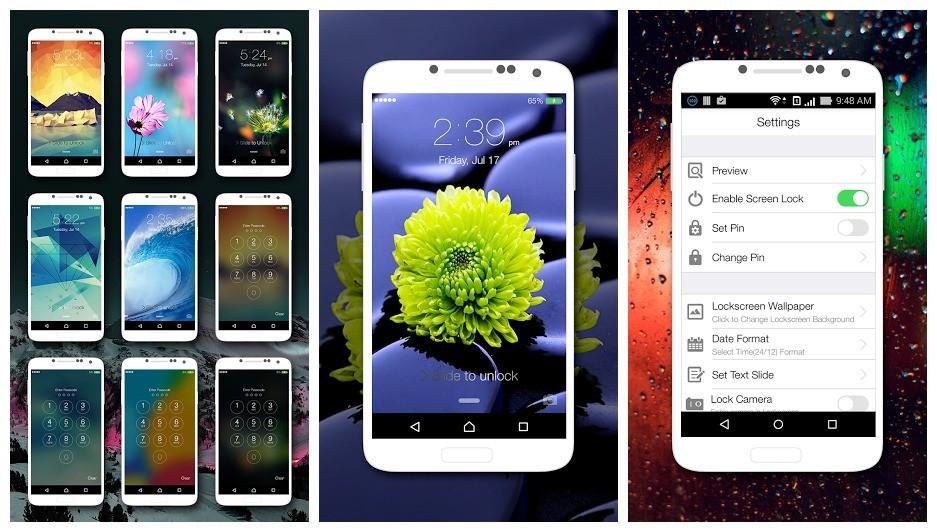 lockscreen ios9 - Kích hoạt chế độ đa cửa sổ trong Android 6.0