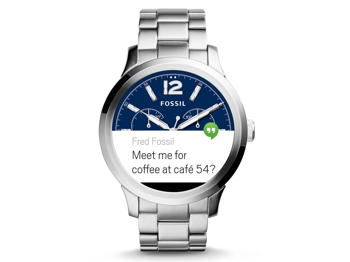 Fossil Q Founder - Đồng hồ Fossil Q Founder sẽ sớm có mặt trên Google Store