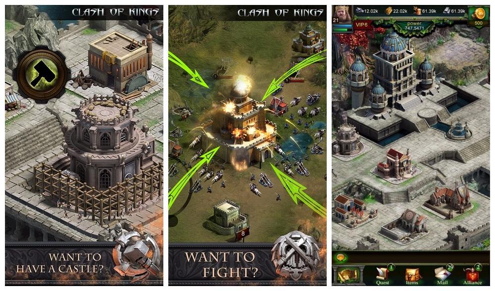 clash of kings - Clash of Kings: Cuộc chiến giữa các lãnh chúa