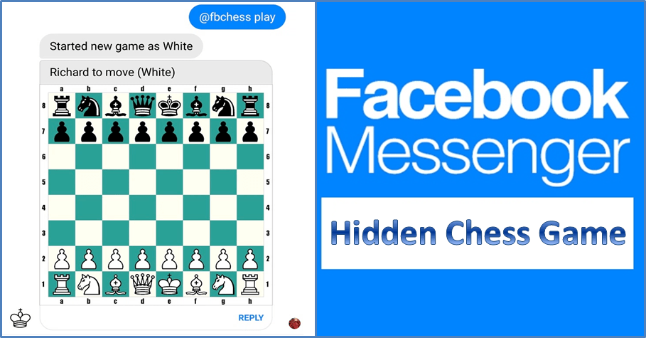 facebook messenger chess - Chơi cờ vua với bạn bè trên Facebook