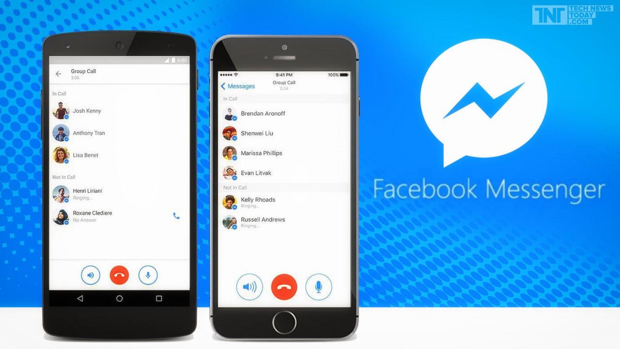 """facebook launches group calling feature for messenger app - Facebook Messenger sắp cập nhật tính năng giấu tin nhắn """"nhạy cảm"""""""