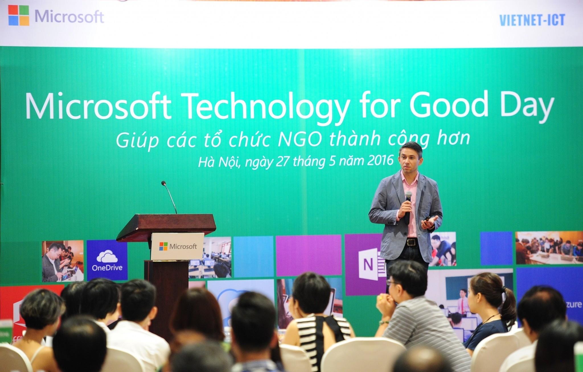 trainghiemso Technology for Good Tech4Good - Microsoft đẩy mạnh công tác ứng dụng CNTT và điện toán đám mây phục vụ cộng đồng