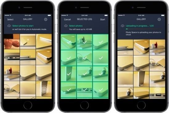 avast photo space 10 for ios iphone screen trainghiemso - Ứng dụng miễn phí giúp bạn lưu 7GB ảnh chỉ với 1GB bộ nhớ iPhone