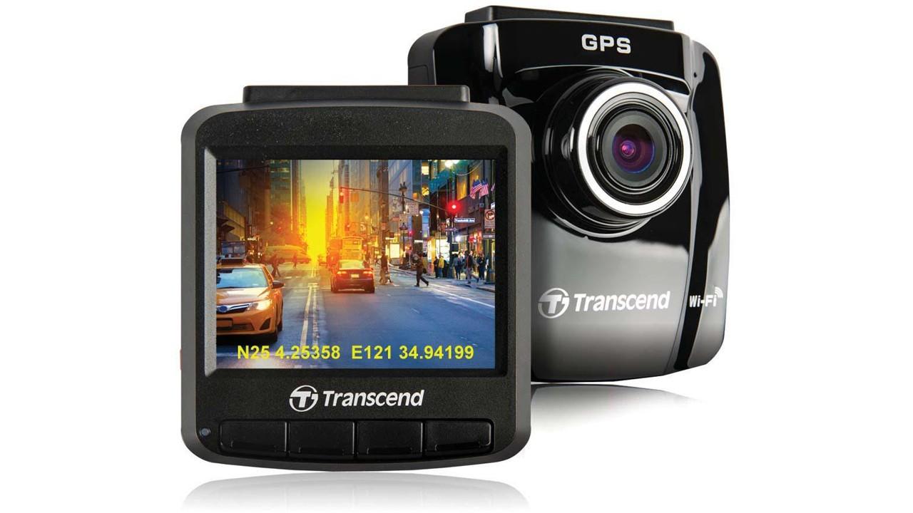 camera hanh trinh - FPT Shop: giảm giá 20% camera hành trình Transcend DrivePro 220