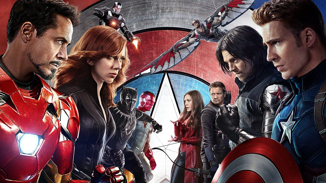 captain america civil war - Top 10 phim ăn khách nửa đầu năm 2016