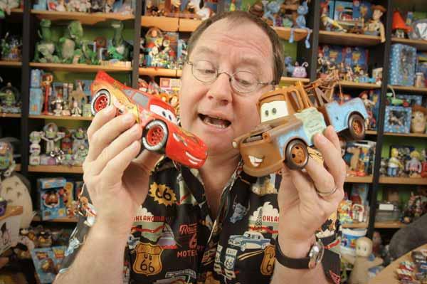 cars john lasseter - Pixar - Finding Dory và hơn 30 năm hoạt hình 3D