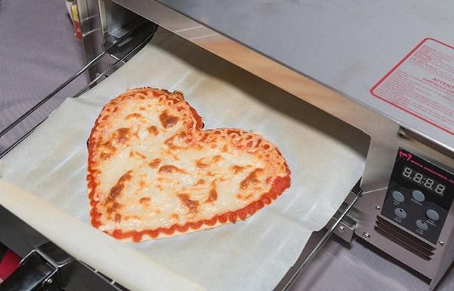 Chiếc máy in 3D này làm Pizza siêu nhanh lại ngon khó cưỡng