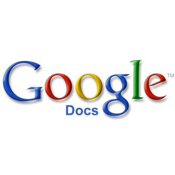 google docs 1 600x600 - Top 10 dịch vụ Google ai cũng cần