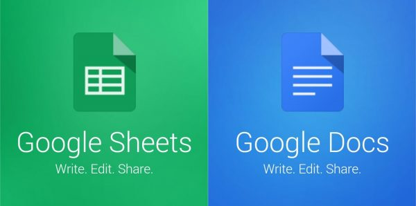 google sheet 600x298 - Top 10 dịch vụ Google ai cũng cần