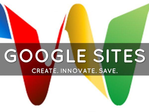google sites 600x450 - Top 10 dịch vụ Google ai cũng cần