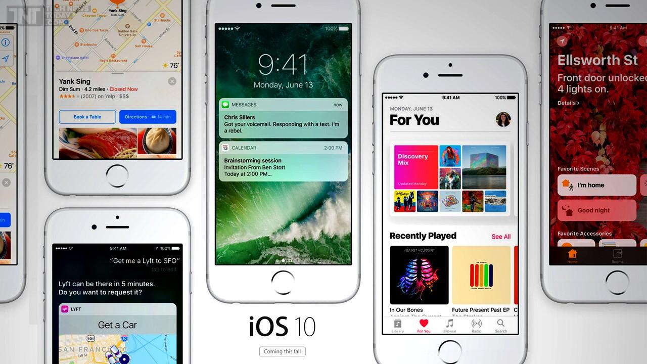 ios 10 featured - Apple chính thức khoá sign về 10.2.1 và 10.3