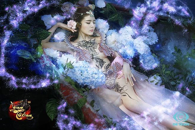 Lilly Luta lột xác với tạo hình Điêu Thuyền gợi cảm