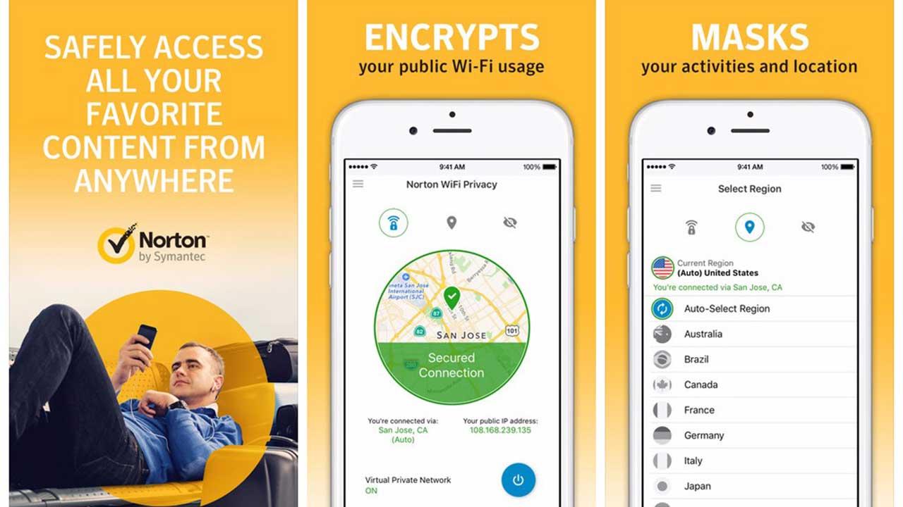 norton wifi privacy vpn - Norton ra mắt ứng dụng VPN, giúp bạn lướt web an toàn nơi công cộng