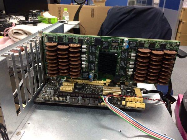Hệ thống tản nhiệt bằng đồng xu cho cả máy tính để bàn.