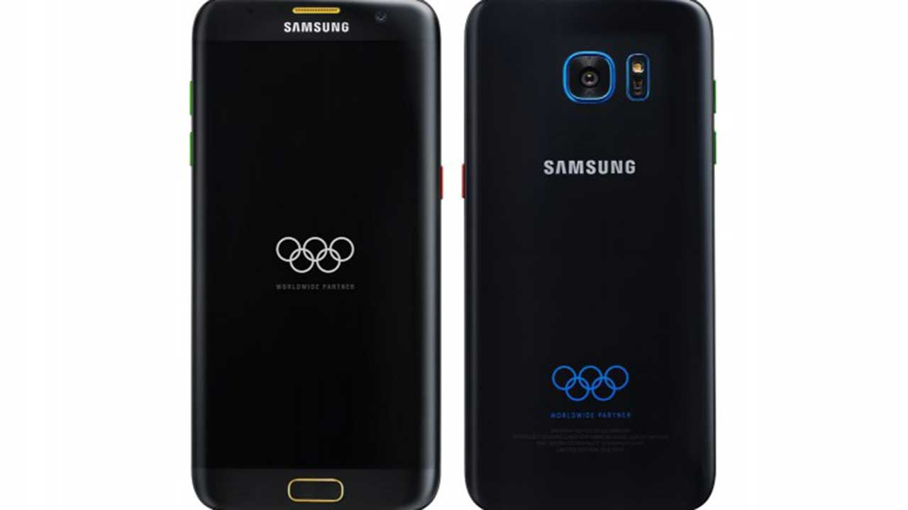 samsung galaxy s7 edge olympic edition featured - Galaxy S7 Edge Olympic Edition: Bản Galaxy S7 Edge dành cho Thế vận hội