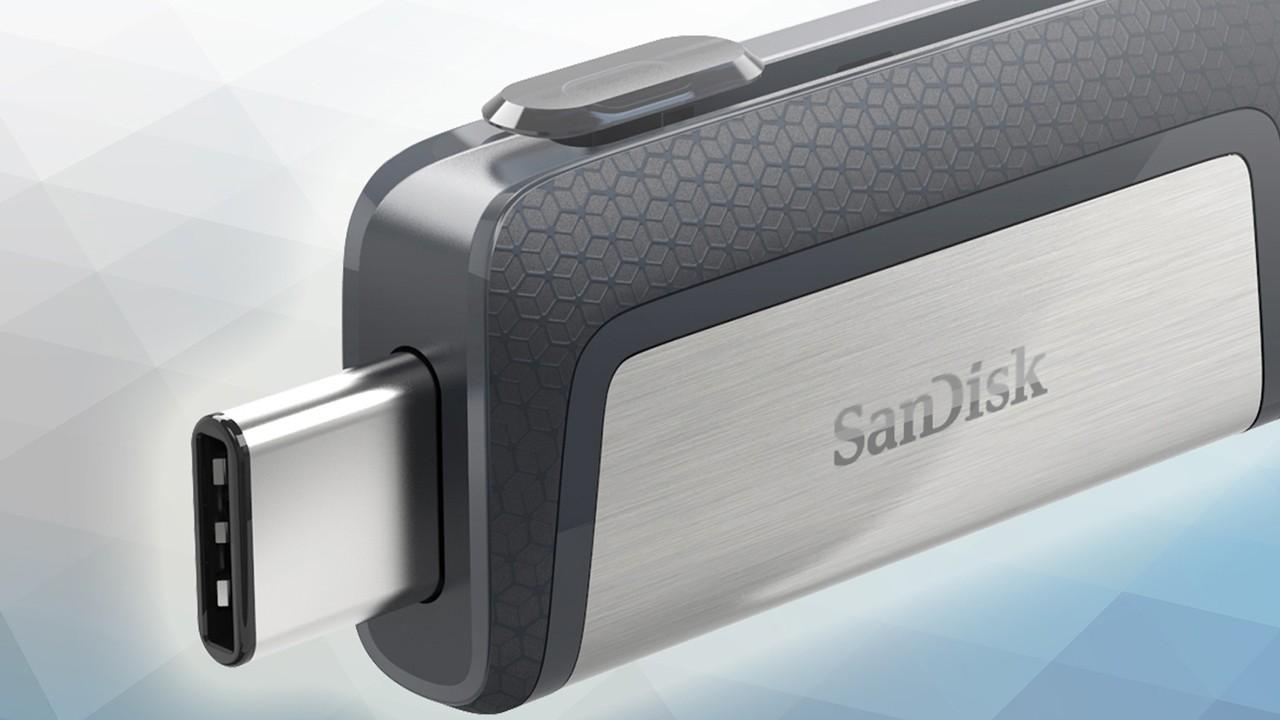 sandisk thumb - Sandisk Ultra Dual Drive USB Type-C: dung lượng lớn, tốc độ cao