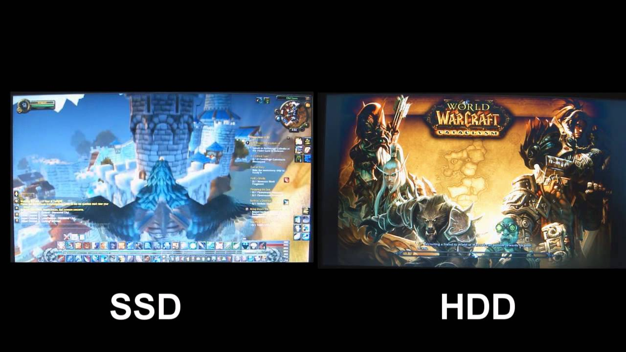 ssd hdd - Những khác biệt giữa ổ cứng SSD và HDD thường