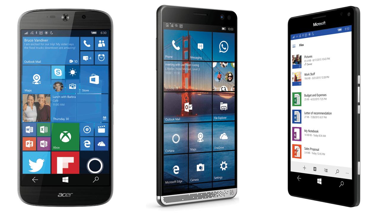 tu van dien thoai windows 10 mobile - Chọn điện thoại Windows 10 Mobile cao cấp