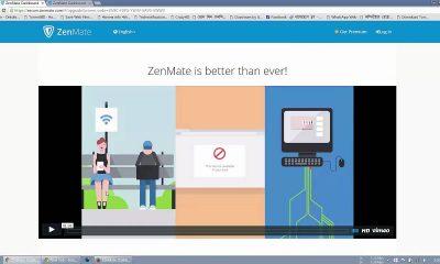 zenmate 400x240 - Khắc phục mạng chậm do cáp AAG bảo trì với ZenMate, đang miễn phí 3 tháng