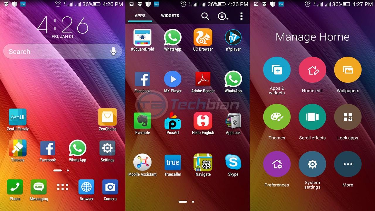 zenui launcher - Hướng dẫn đưa giao diện ZenFone lên các thiết bị Android