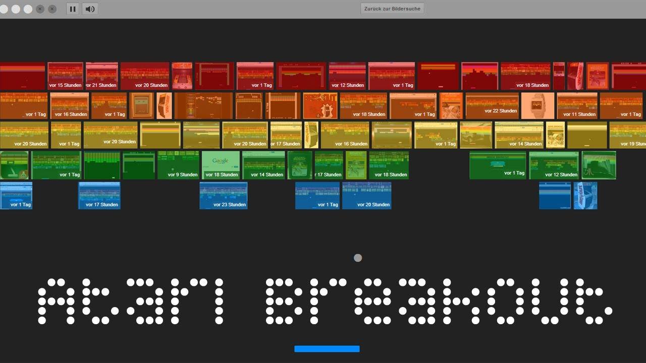 atari breakout - Top 4 game ẩn trên các sản phẩm Google