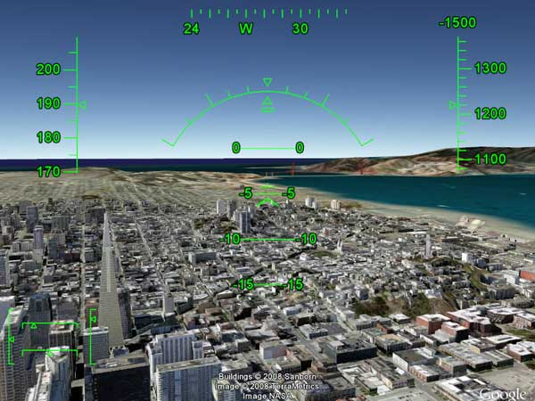 hidden google games google earth flight simulator - 12 game ẩn trên các sản phẩm Google