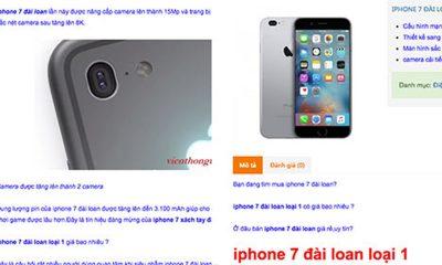 iPhone 7 trainghiemso 01 400x240 - Chưa ra mắt, iPhone 7 đã được chào bán tràn lan ở Việt Nam