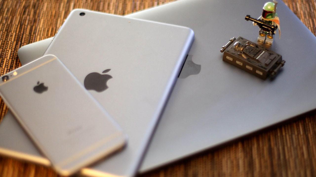 macbook ipad mini iphone 6 space gray comparison - 10 ứng dụng iOS đang miễn phí hôm nay