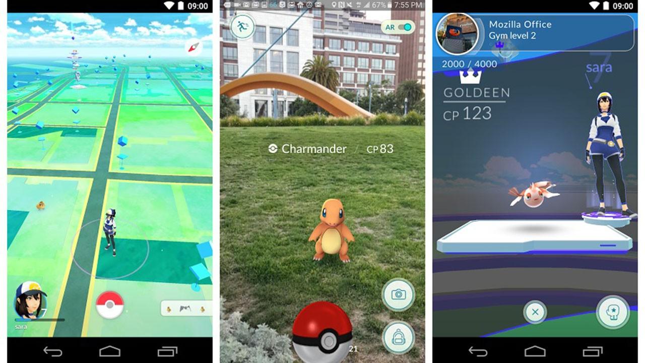 """pokemon go featured - """"Hài hước"""" hình ảnh game nhái Pokémon GO của Trung Quốc"""