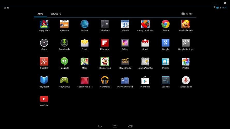 top 12 trinh gia lap android tot nhat tren may tinh 6 - 14 trình giả lập Android tốt nhất trên máy tính