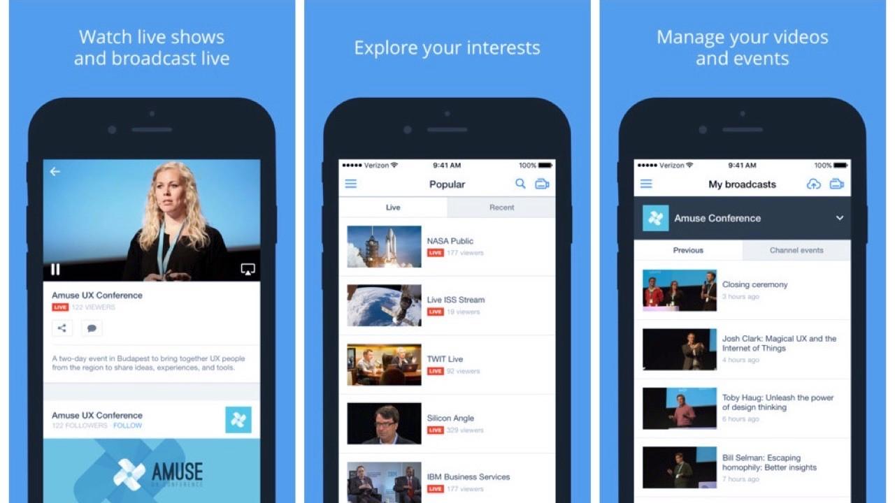 ustream featured - Hướng dẫn stream video trên iPhone không dùng YouTube và Facebook