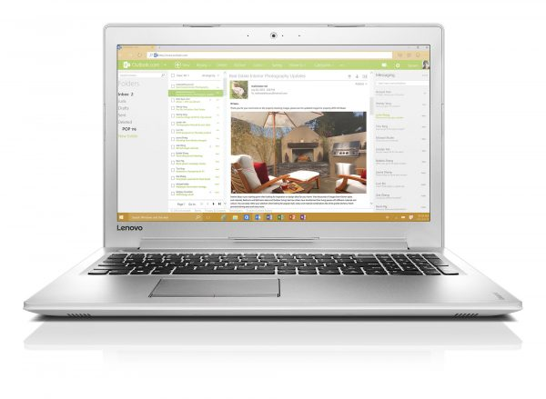 IdeaPad 510 15''_White_04_Outlook