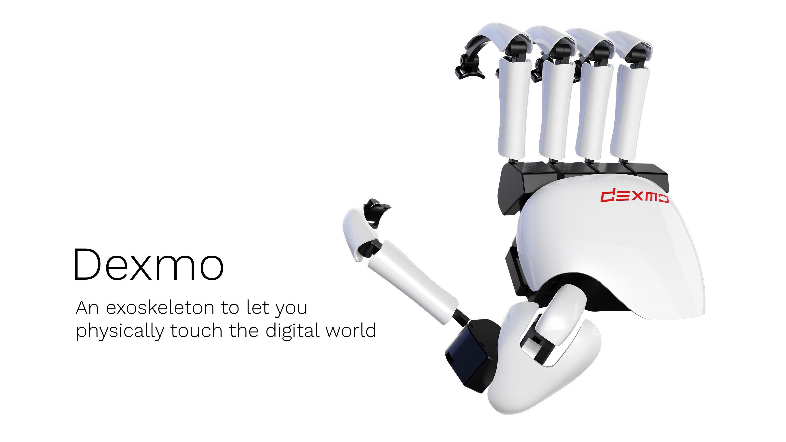 """dexmo featured - Dexmo - Chiếc găng tay giúp bạn chạm tay được vào """"thực tế ảo"""""""