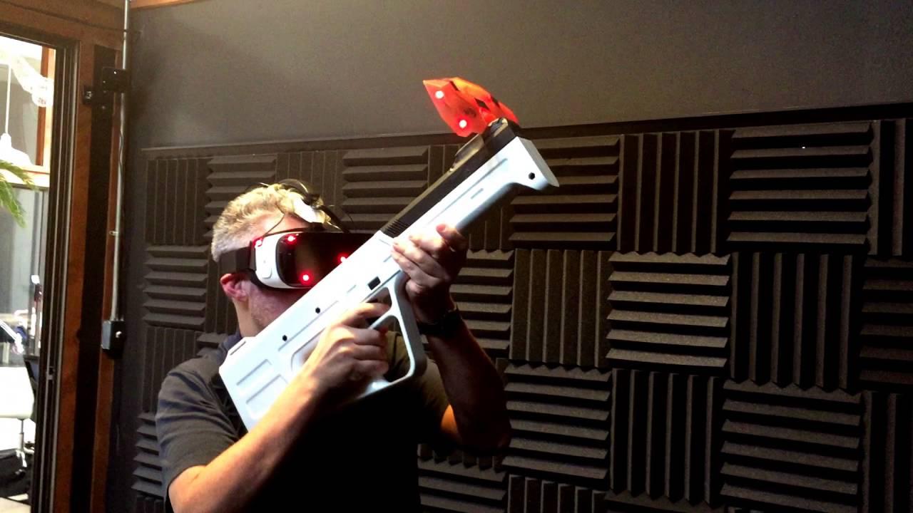 infinity v1 featured - Striker VR giới thiệu súng thực tế ảo cho cảm giác như súng thật