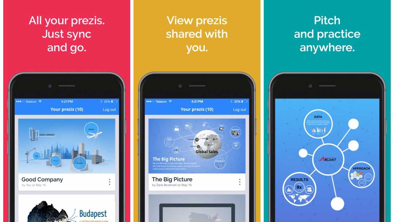prezi viewer featured - Hướng dẫn tạo bản thuyết trình trên iPhone