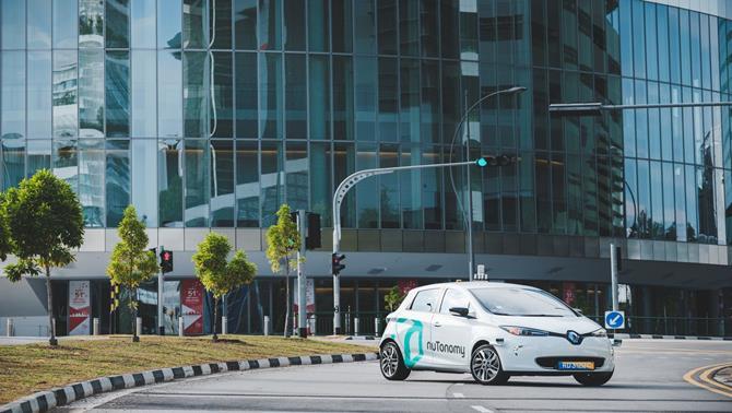 Singapore ra mắt taxi tự lái đầu tiên trên thế giới