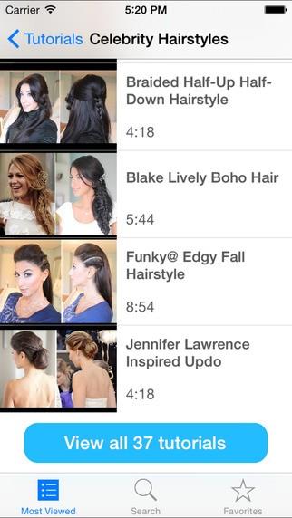 Top 10 ứng dụng dành cho bạn nữ mê làm tóc trên iOS