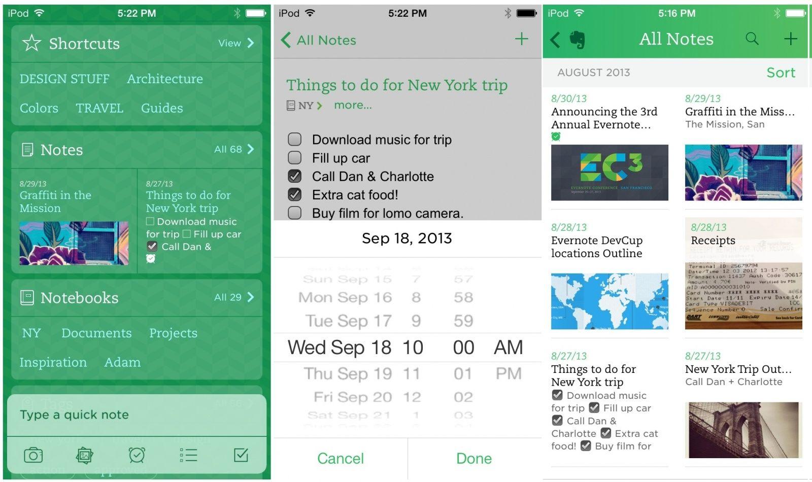 Top 10 ứng dụng ghi chú cá nhân tốt nhất trên iOS