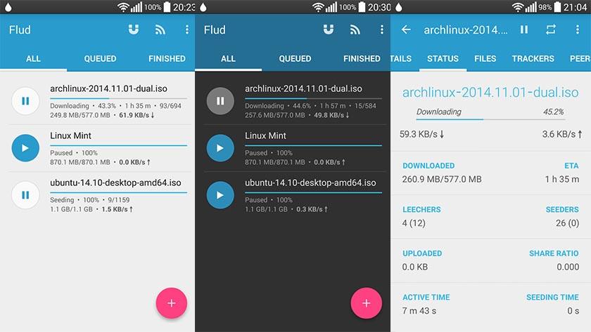Top 5 ứng dụng tải trực tiếp torrent trên điện thoại Android