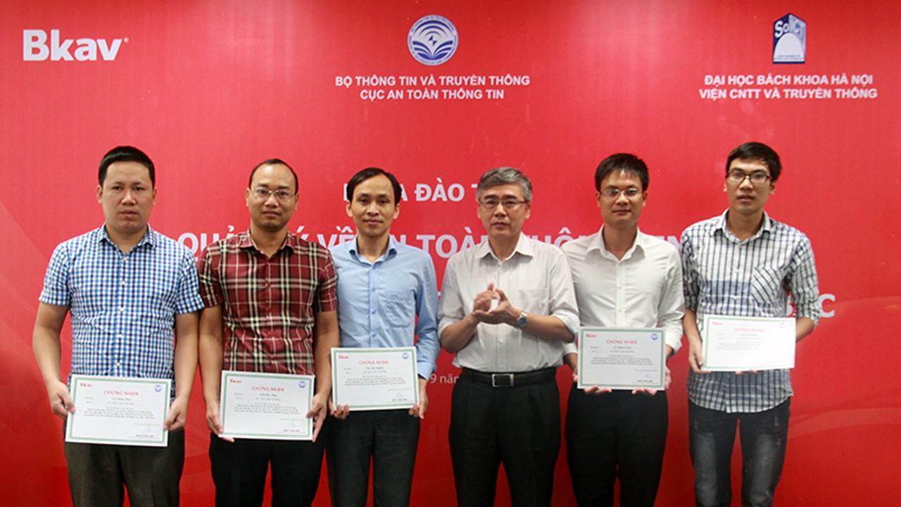 DTANM traochungnhan - Bkav đào tạo an ninh mạng cho các bộ ban ngành, tỉnh