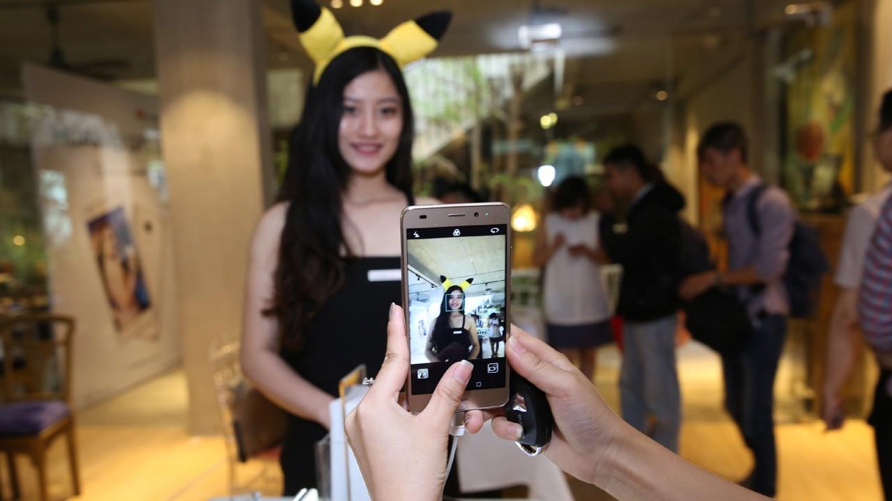 Hinh anh tai su kien ra mat Huawei GR5 Mini 2 - Huawei hợp tác cùng Pokemon