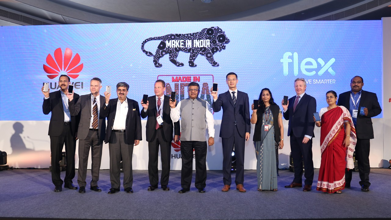Huawei san xuat smatphone tai An Do - Huawei bắt đầu sản xuất smartphone tại Ấn Độ